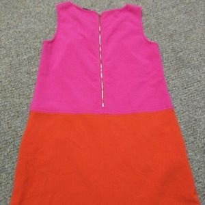 LOFT Dresses - Loft orange pink dress size 10